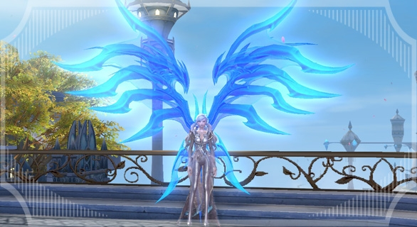 Somptueuse ailes de lumière