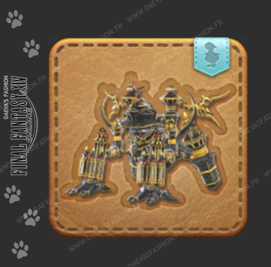 Les mascottes • Final Fantasy XIV   Daeva's Fashion