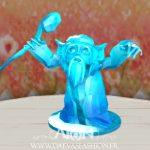Une création de Spirerinerk - Statue d'Ether de Manduri barbe blanche